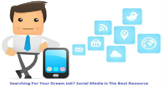job search, social media