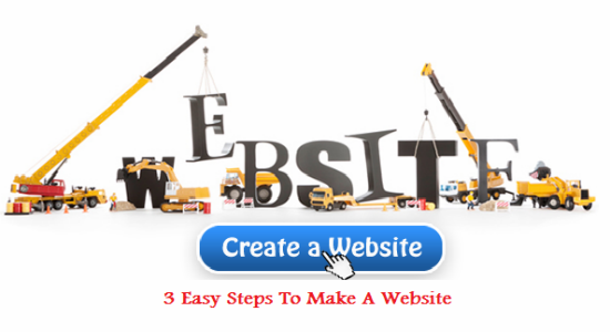 make a website, website, create a website
