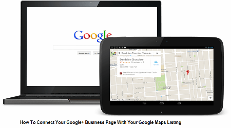 Google+ business page, Google maps listing, Google