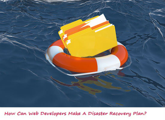 disaster recovery planning, web developers