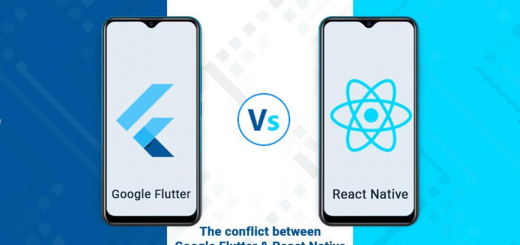 google flutter, google, react native