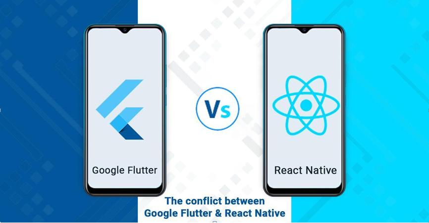 google flutter, google, react native