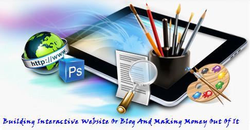 website, interactive website, create a website