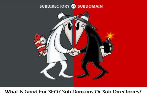 sub-domain, sub-directory, domain, website, SEO